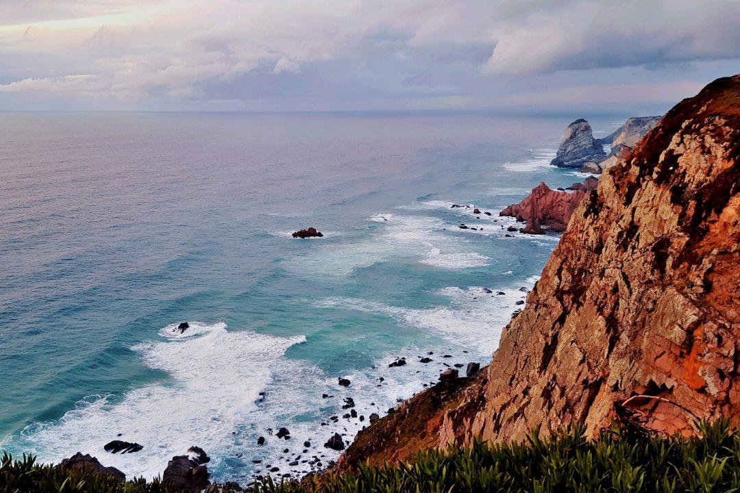 Oceanul Atlantic la Cabo da Roca