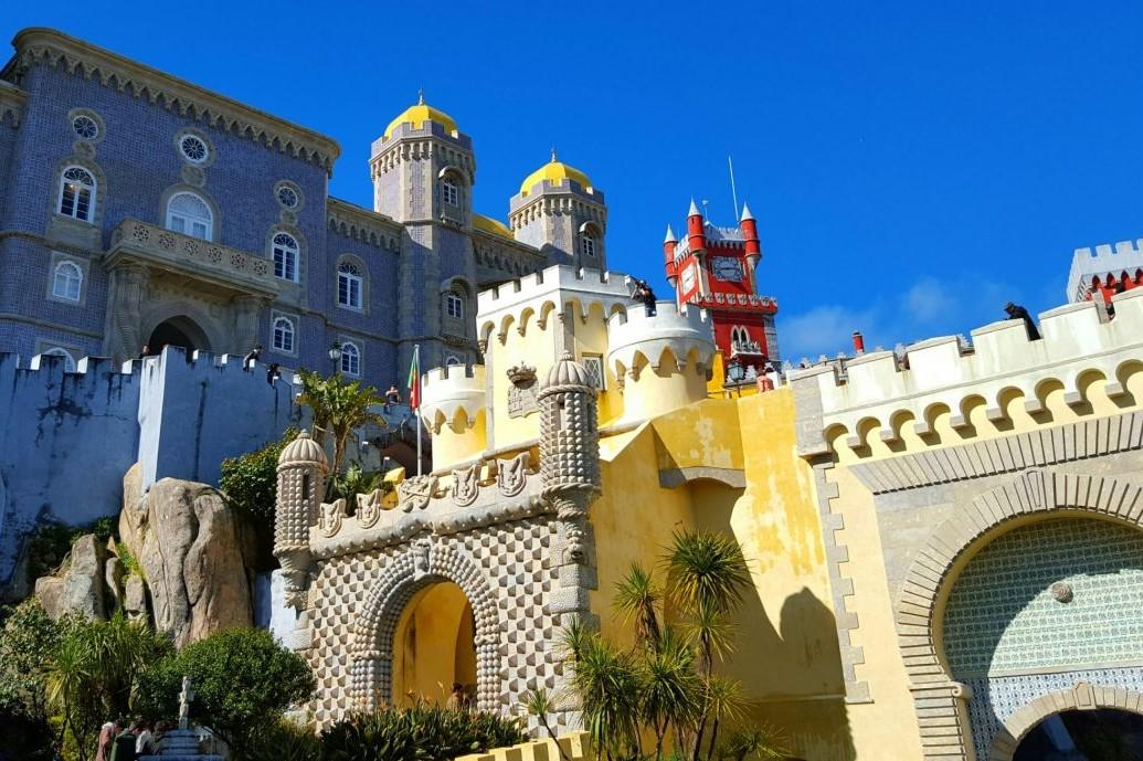 palatele din Sintra-Pena