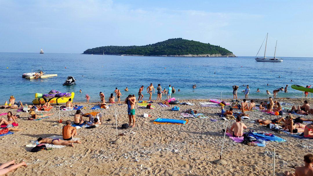 plaja, oameni