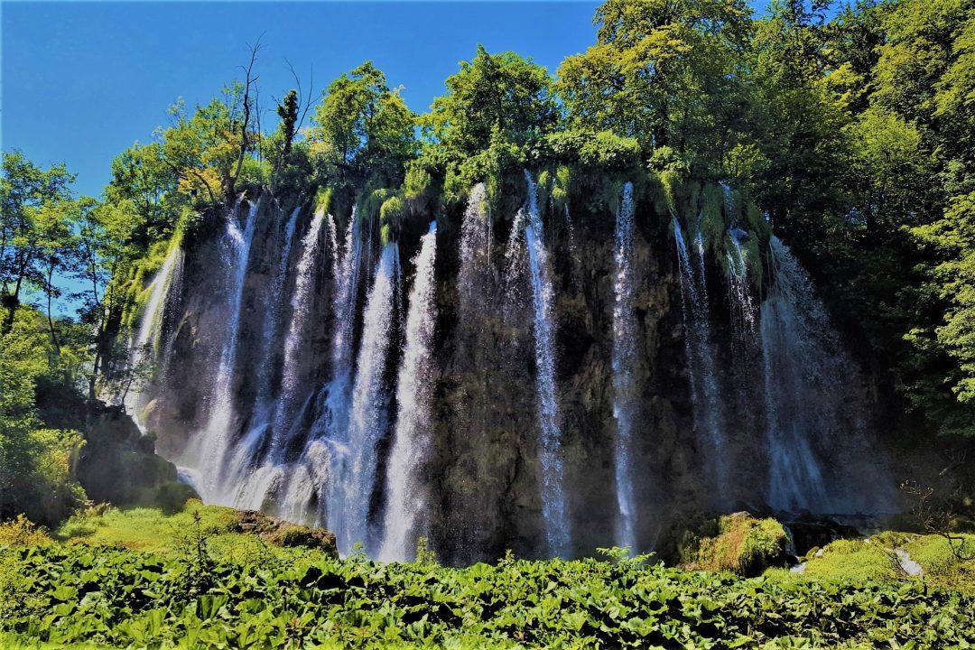 Lacurile Plitvice din Croatia