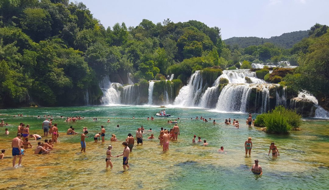 la scaldat in krka