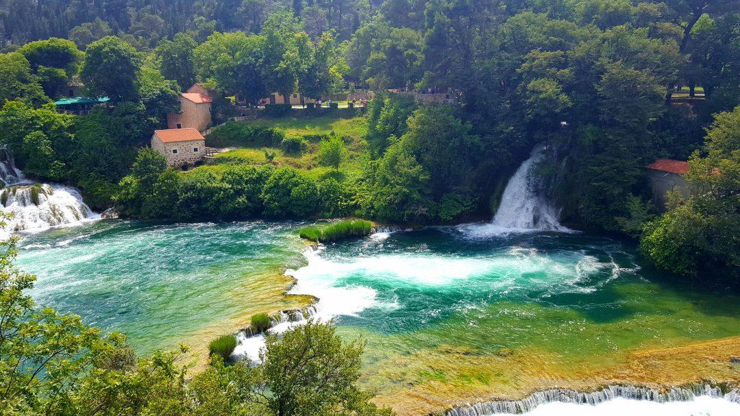 cascade in krka