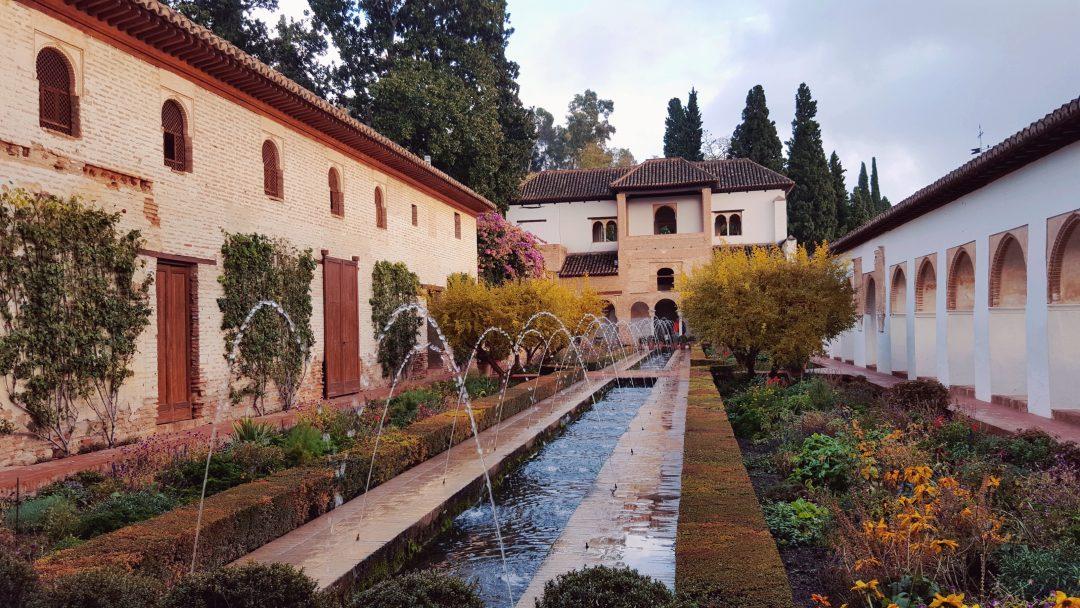 alhambra, gradini