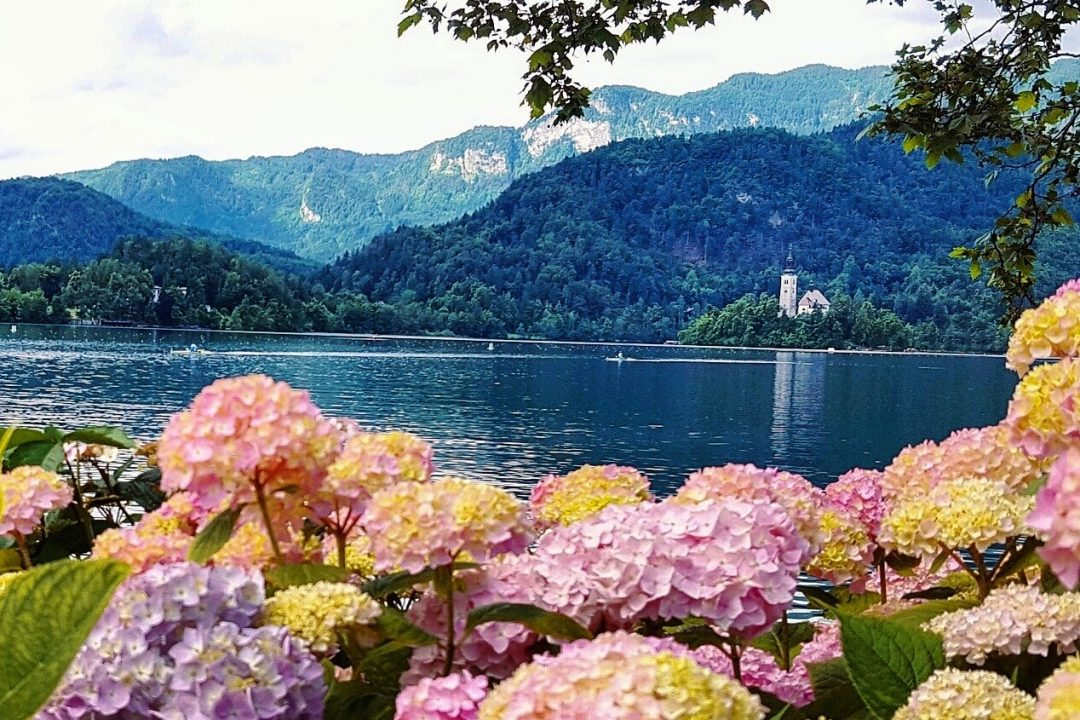 lacul bled, biserica,