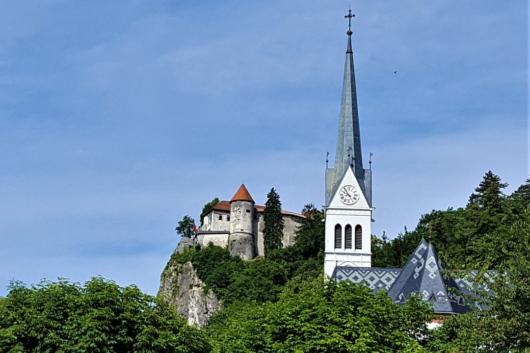 lacul bled, biserica si castel