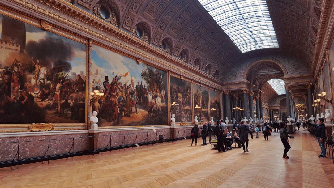 interiorul palatului versailles