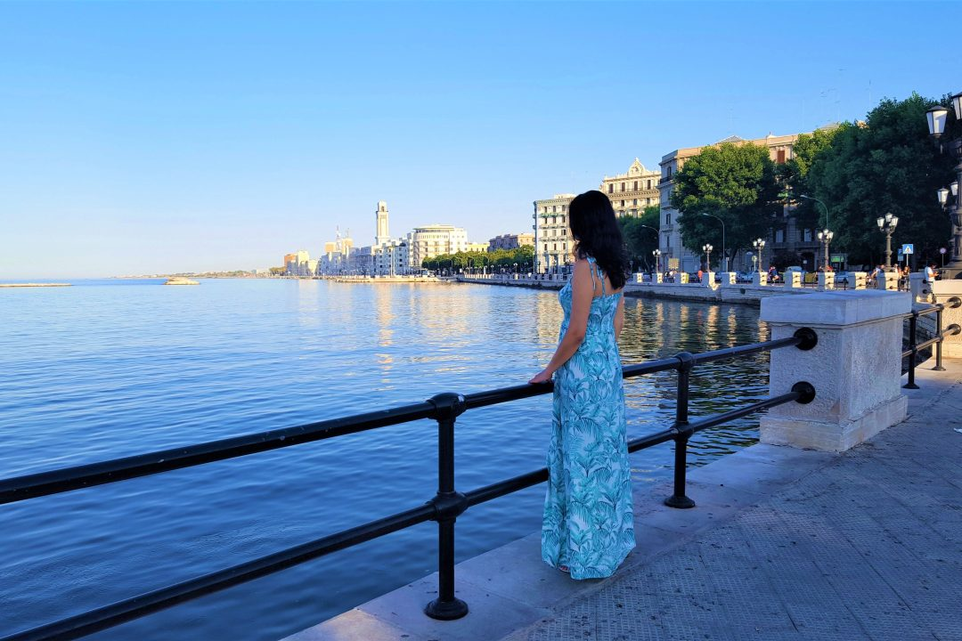 Impresii din Bari -faleza