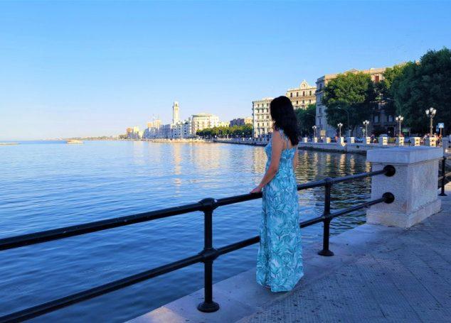 Plimbare pe străzile din Bari