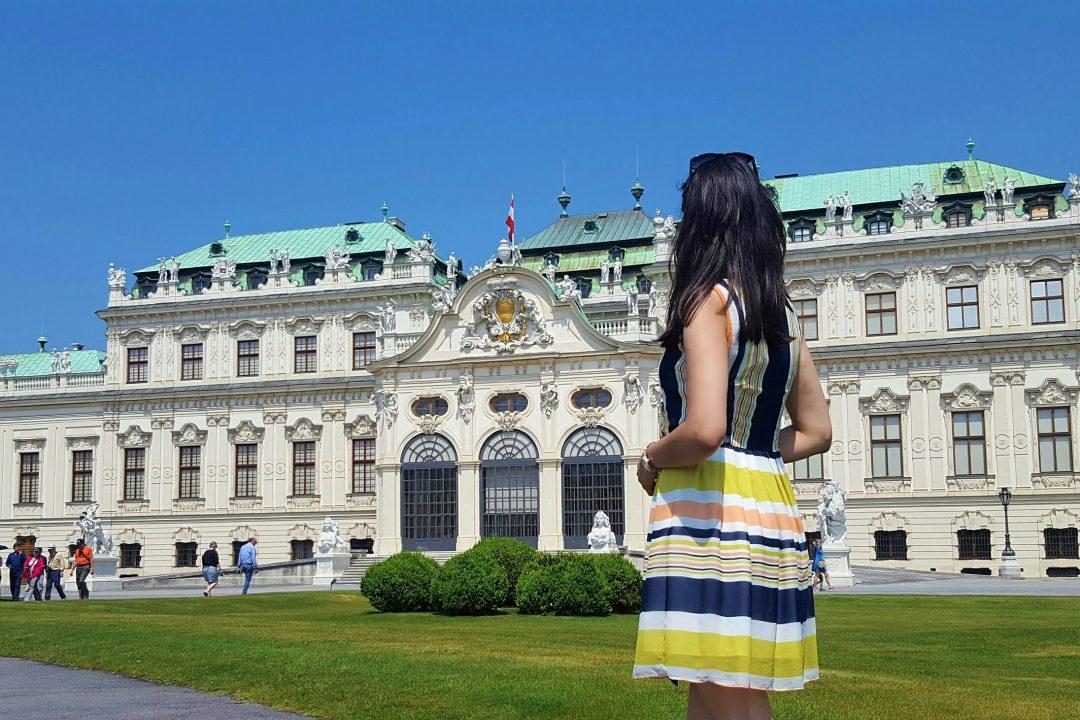 palatul velbedere-călătorie in viena