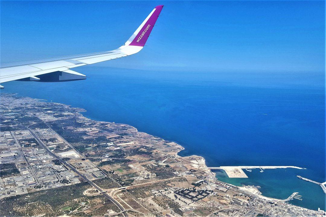 aterizare peste Bari- cum ajungi de la aeroport în Bari
