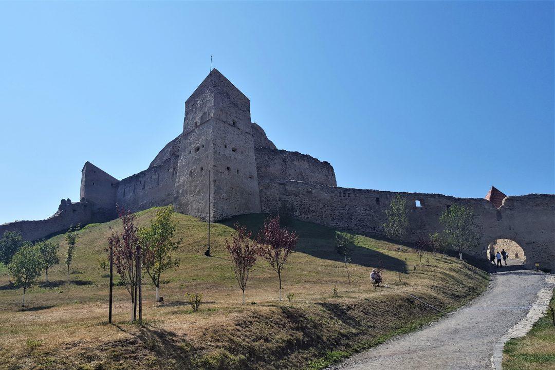 intrarea in cetatea rupea