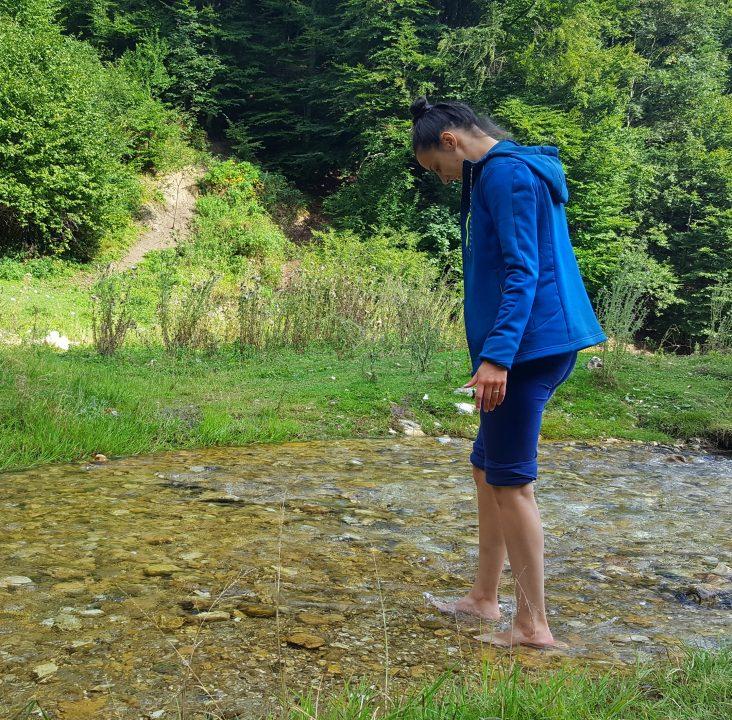 balaceala în râul dâmbovicioara