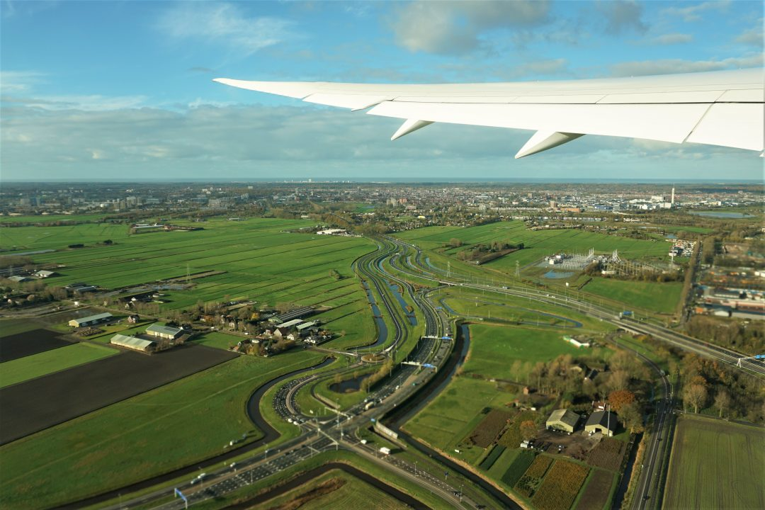 aterizare in amsterdam