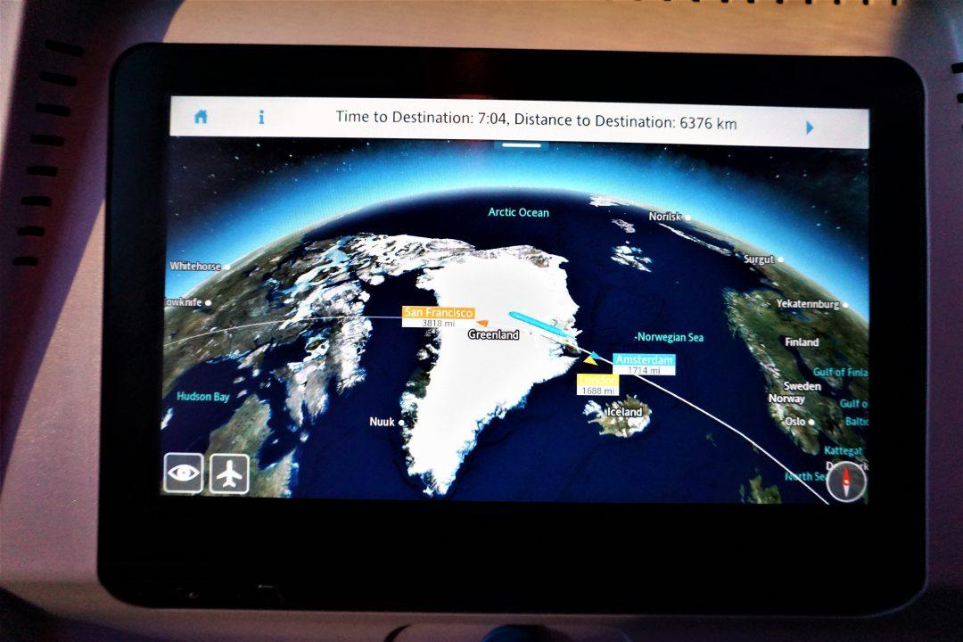 zbor peste groenlanda vazut din avion