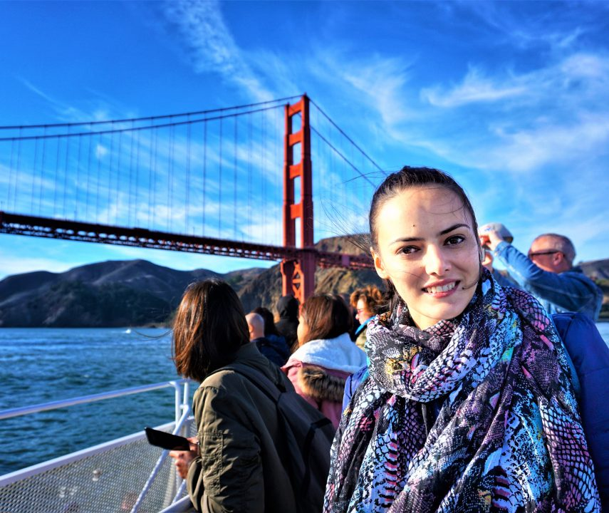 croazieră spre golden gate bridge-atractii turistice din San Francisco
