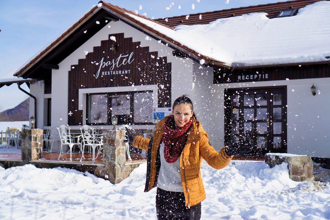 Iarna la Pastel Chalet din Vama Buzaului