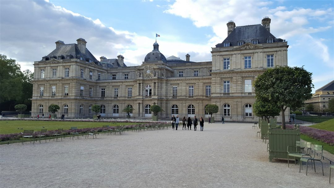 gradinile luxembrug palat