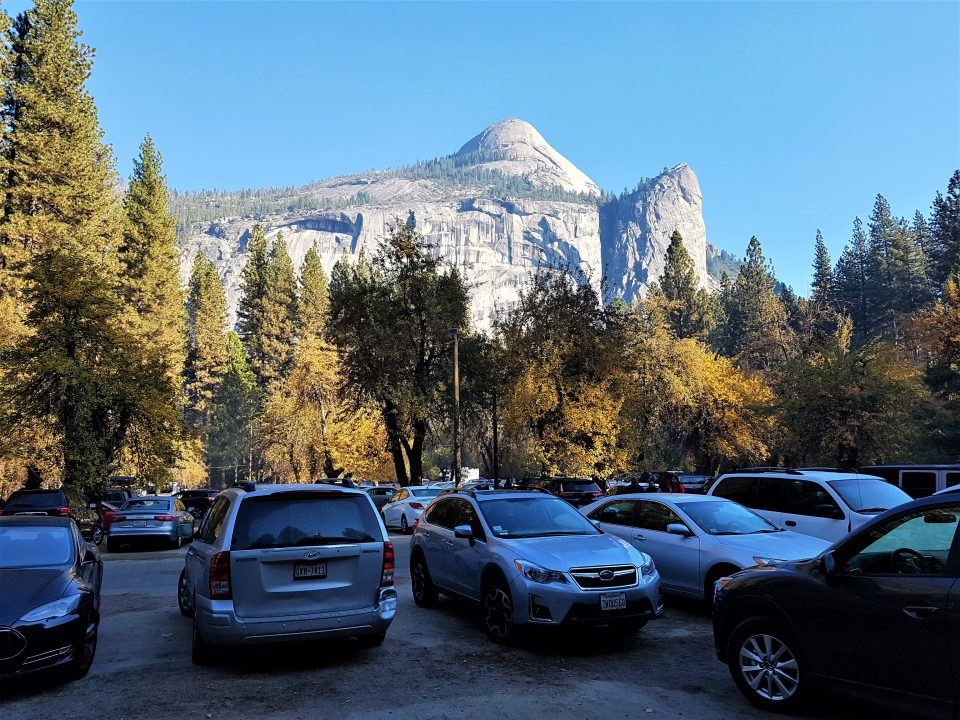 parcare in yosemite