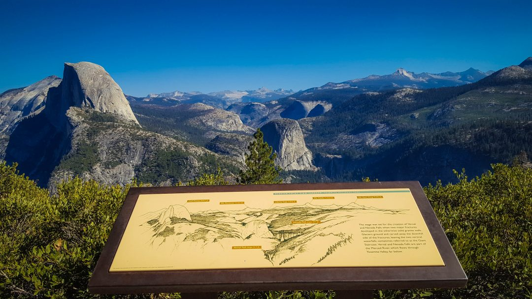 glacier point din california