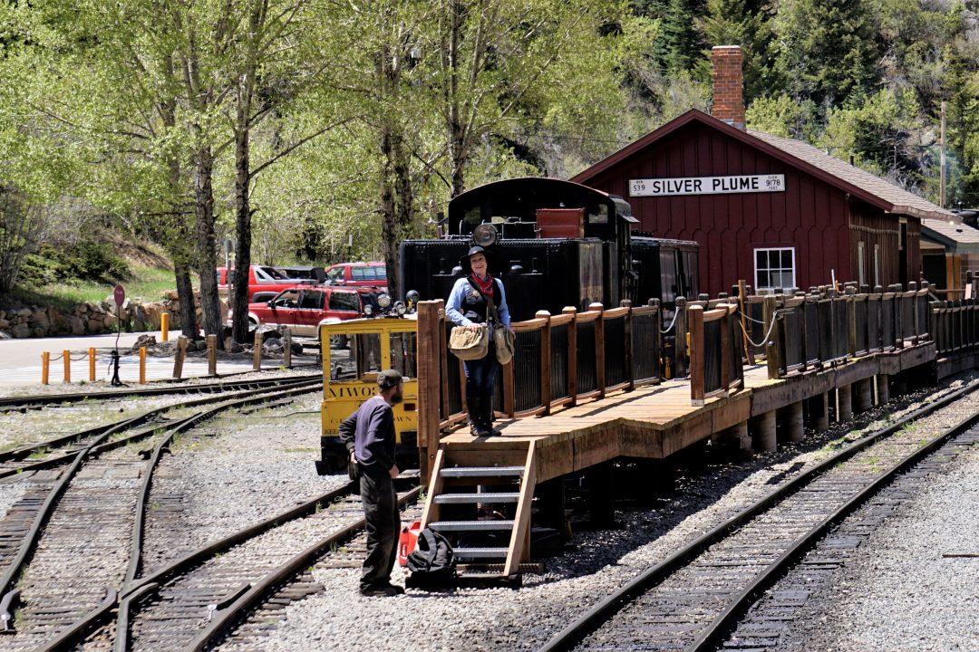 gara tren cu aburi