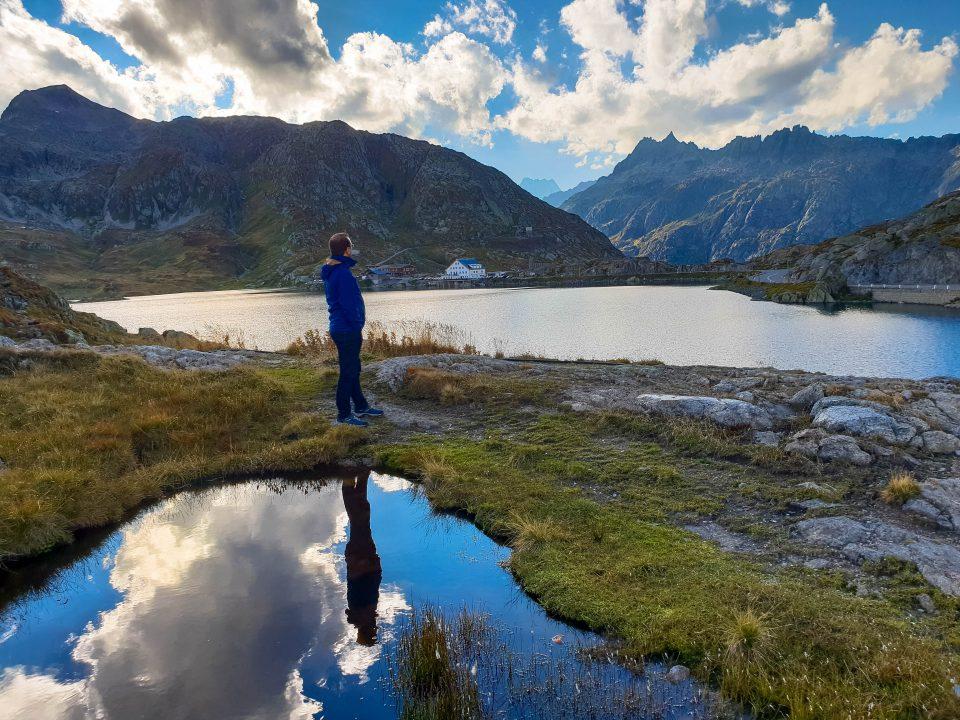 reflexie in lac