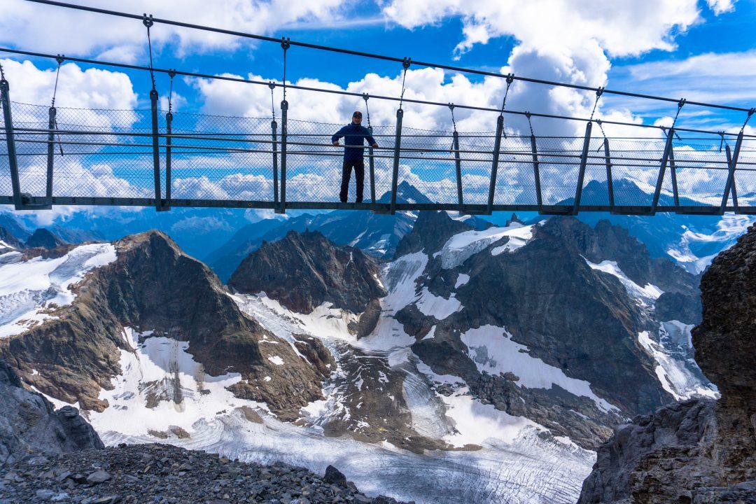 Muntele titlis-podul suspendat