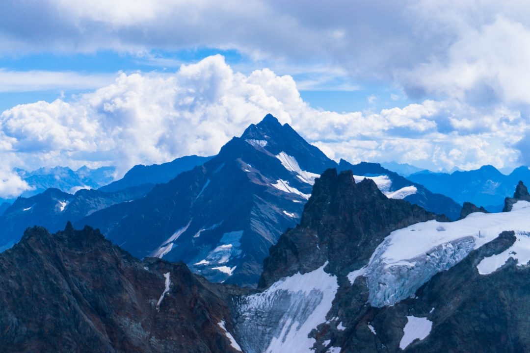 priveliste de pe muntele titlis